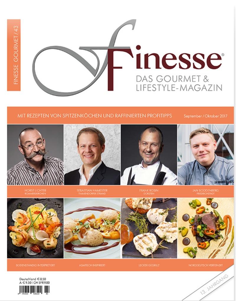 Cover - Finesse Magazin
