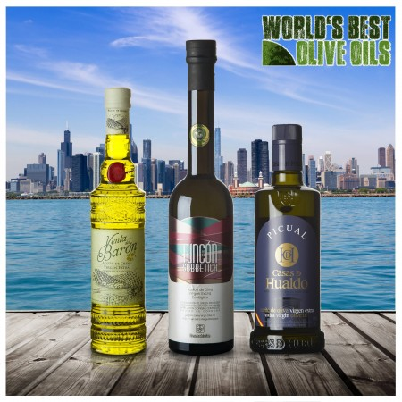 Weltbeste Olivenöle 2019 (WBOO) - 3er Siegerpaket
