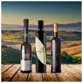 Testsieger Feinschmecker Olivenöltest 2020 - 3er-Paket intensiv fruchtig - Olio Award