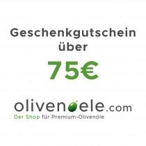 Geschenkgutschein über 75€   17001