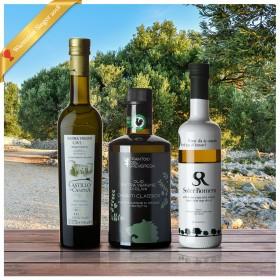 Testsieger Stiftung Warentest Olivenöltest 2018 - 3er-Siegerpaket