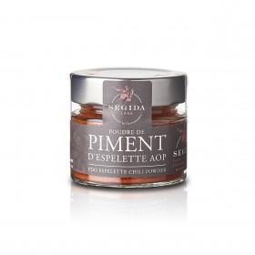 Segida - Poudre de Piment D'Espelette - 40g