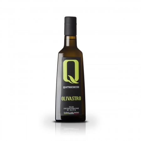 Olivastro - 500ml - Quattrociocchi Americo - Testsieger Feinschmecker Olivenöltest 2019 - Olio Award