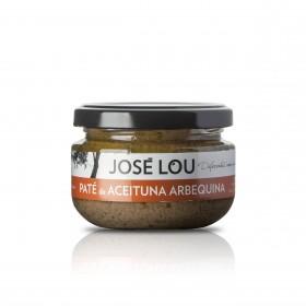 Paté von grünen Arbequina Oliven - 110g - Aceitunas José Lou