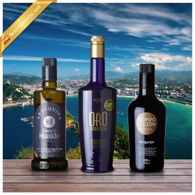 Beste Spanische Olivenöle 2018 - 3er Siegerpaket