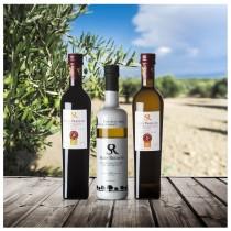 Oliveöl Sieger Stiftung Warentest 2020 und Balsam Essig in hell und dunkler Ausführung von Soler Romero aus Spanien