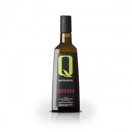 Superbo - 500ml - Quattrociocchi Americo - Testsieger Feinschmecker Olivenöltest 2017 - Olio Award