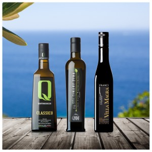 Testsieger Feinschmecker Olivenöltest 2021 - 3er-Paket Italien - Olio Award