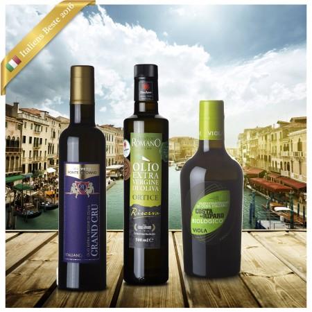 Beste Italienische Olivenöle 2016  (Oli d'Italia) - 3er Paket