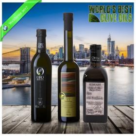 Weltbeste Olivenöle 2017 (WBOO) - 3er Siegerpaket