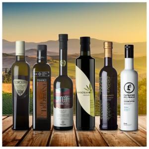 Feinschmecker Olivenöltest Siegerpaket - 6 Stück des OlioAwards 2020