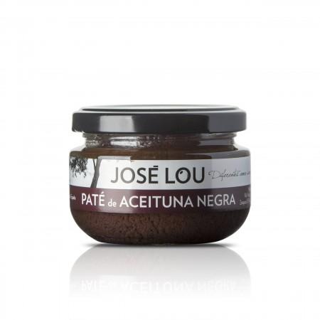 Paté von schwarzen Oliven - 110g - Aceitunas José Lou