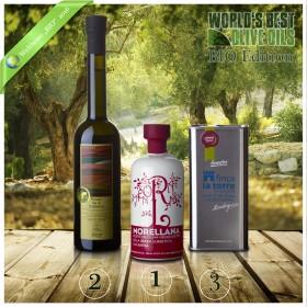 Weltbeste Bio-Olivenöle 2016 (WBOO) - 3er Siegerpaket