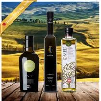 Testsieger FEINSCHMECKER Olio Award 2018 - 3er-Paket Spanien - Olivenöltest
