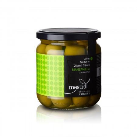 Mestral - Manzanilla Oliven mit Stein - 220g - Cooperativa Cambrils