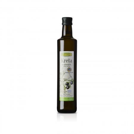 RAPUNZEL - Kreta - Bio-Olivenöl nativ extra - Chania Kritis PGI - 500ml - Testsieger ÖKO-TEST Olivenöltest 2019