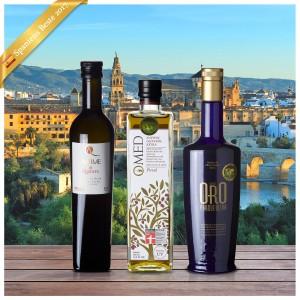 Beste Spanische Olivenöle 2017 - 3er Siegerpaket   15041