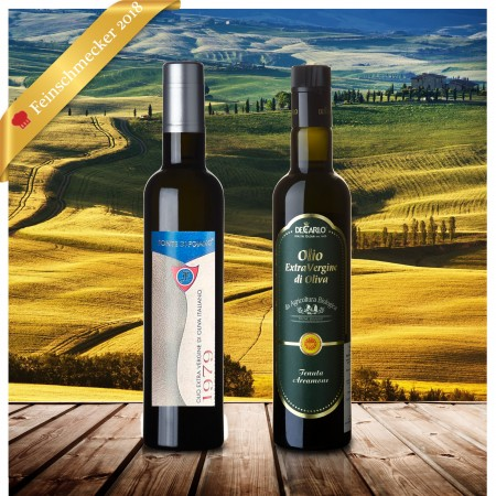 Feinschmecker Olivenöltest 2018 Siegerset