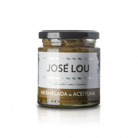 Marmelade von grünen Oliven - 250g - Aceitunas José Lou