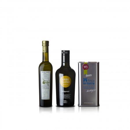 Weltbeste Olivenöle 2016 (COI) - 3er Siegerpaket