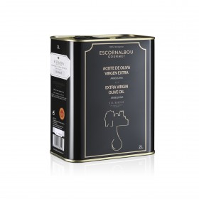 Escornalbou Gourmet - Arbequina - 2000ml - bestes spanisches Olivenöl 2020