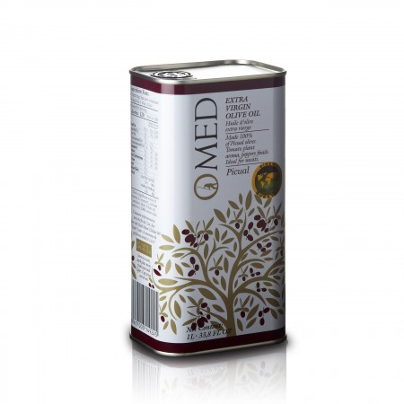 O-Med - Picual 1000ml - bestes spanisches Olivenöl 2021 - Stiftung Warentest Sieger 2016