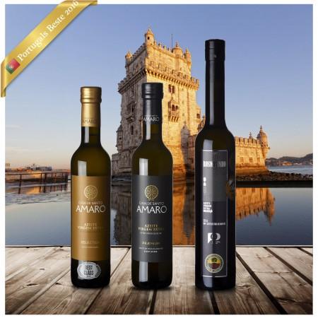 Beste Portugiesische Olivenöle 2016 - 3er Siegerpaket