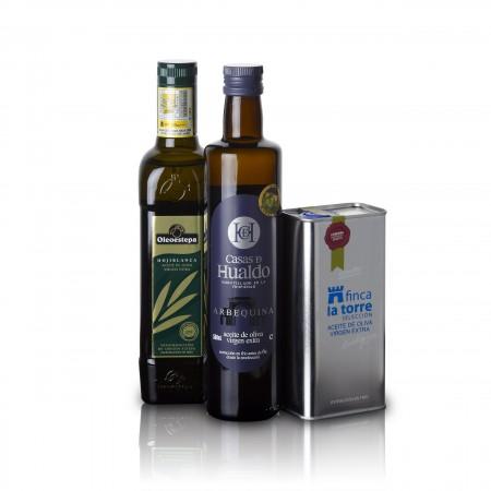 Beste Spanische Olivenöle 2015 - 3er Siegerpaket