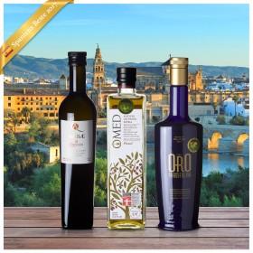 Beste Spanische Olivenöle 2017 - 3er Siegerpaket