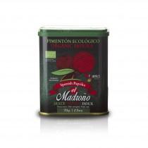 Pimentón Dulce Ecologico - Paprikapulver süß Bio - 70g - El Madroño   12005