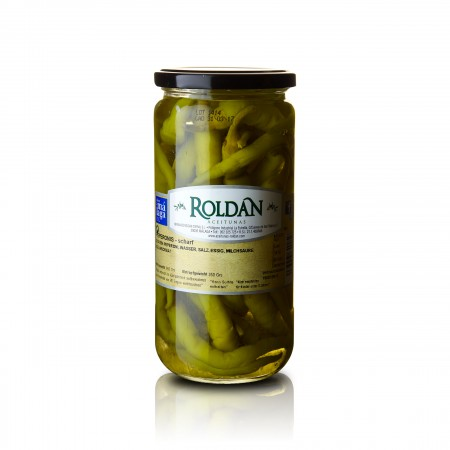 Peperonis - scharf - 350g - Roldan