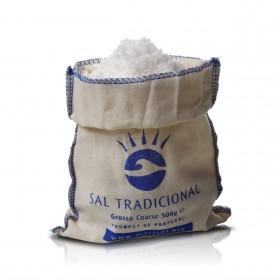 Marisol - Sal Tradicional - traditionelles Meersalz - grob - 500g im Stoffbeutel