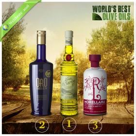 Weltbeste Olivenöle 2016 (WBOO) - 3er Siegerpaket