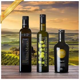 Testsieger Feinschmecker Olivenöltest 2019 - 3er-Paket leicht fruchtig - Olio Award