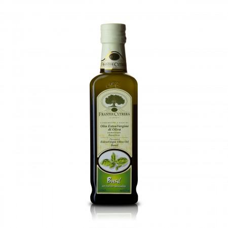 Cutrera - Basilikum - natürlich aromatisiertes Olivenöl 250ml - MHD 07/19