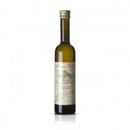 Chateau Virant Olivenöl A.O.C. Aix-en-Provence aus Frankreicht in der Frontansicht