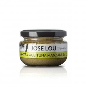 Paté von grünen Manzanilla Oliven - 110g - Aceitunas José Lou   13092