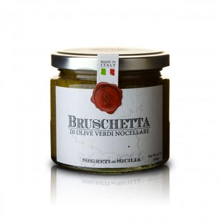 Cutrera - Bruschetta von grünen Nocellara Oliven - 190g