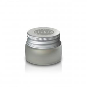 Lippenbalsam aus Bio Olivenöl von Marius Fabre aus der Olivia Serie - aus Frankreich im Glas mit Drehverschluss