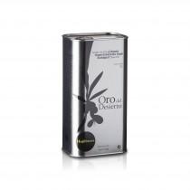 World's Best Olive oil 2019 - WBOO 2. Platz Kategorie Bio- Oro del Desierto Hojiblanca in der 1000ml Dose