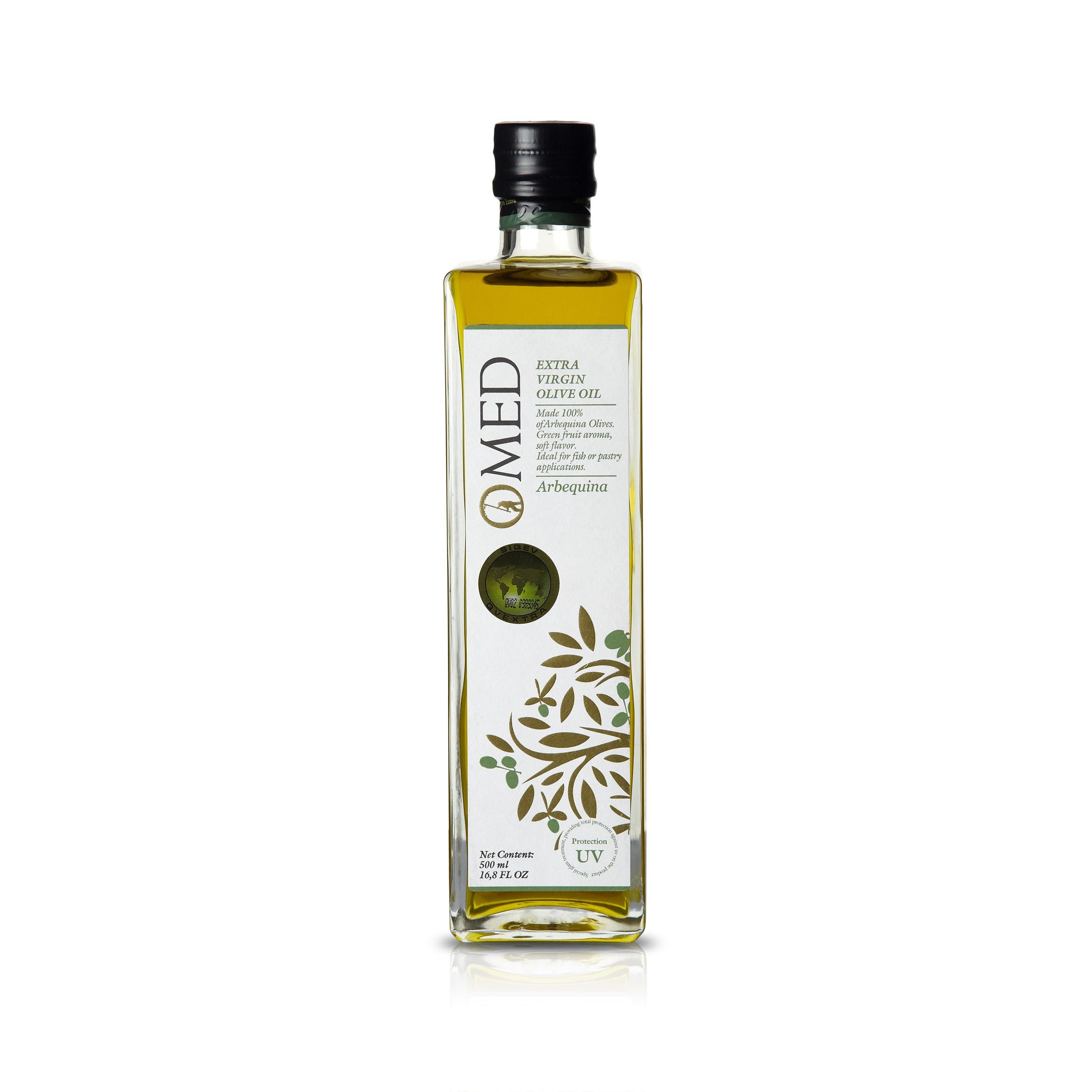 O Med Arbequina 500ml Feinschmecker Testsieger Olivenöltest 2015