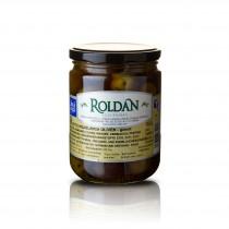 Violette Oliven - geteilt /eingelegt - 240g - Roldan   13002