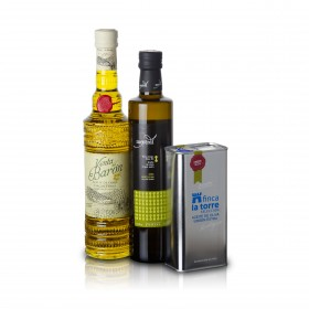 Beste Spanische Olivenöle 2014 - 3er Siegerpaket