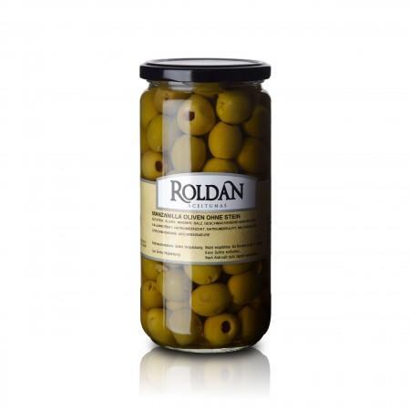Manzanilla Oliven - ohne Stein - 330g - Roldan