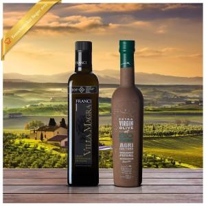 Feinschmecker Olivenöltest 2019 Siegerpaket - Set bestehend aus 2 Olivenölen aus Spanien