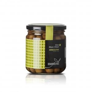 Mestral - Arbequina Oliven mit Stein aus Spanien