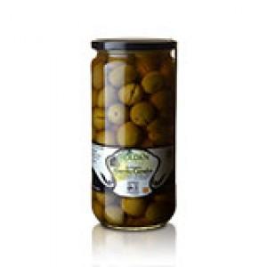 Aloreña Oliven DOP - geteilt /eingelegt - 425g - Roldan   13006