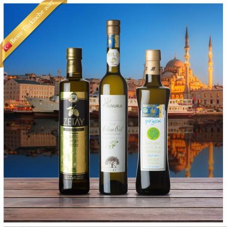 Beste Türkische Olivenöle 2017 - 3er Siegerpaket