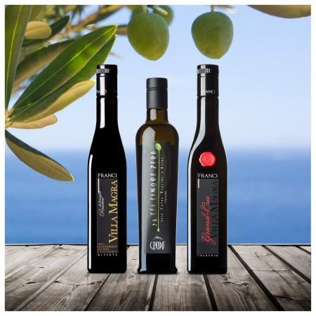Testsieger Feinschmecker Olivenöltest 2021 - 3er-Paket mittel fruchtig - Olio Award