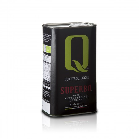 Superbo - 1000ml - Quattrociocchi Americo - Testsieger Feinschmecker Olivenöltest 2017 - Olio Award